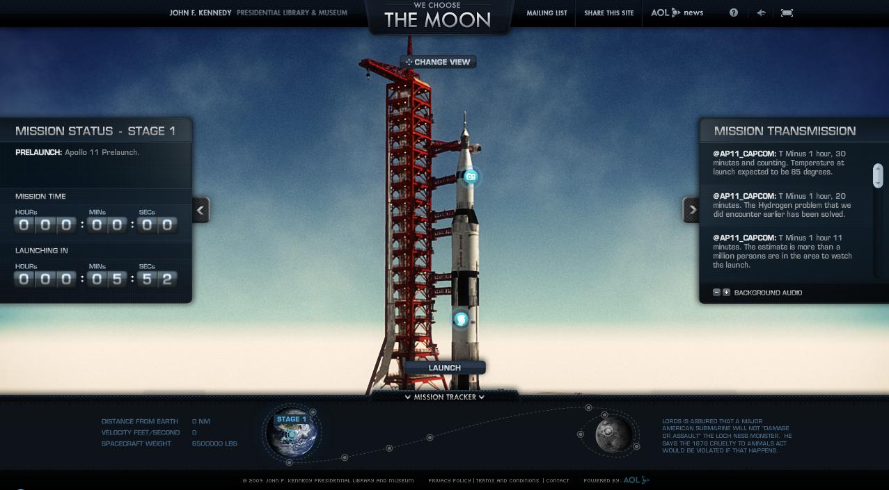 a critique of we choose the moon an interactive website about the apollo 11 mission We choose the moon this site is devoted to the apollo 11 mission and is a great history lesson.