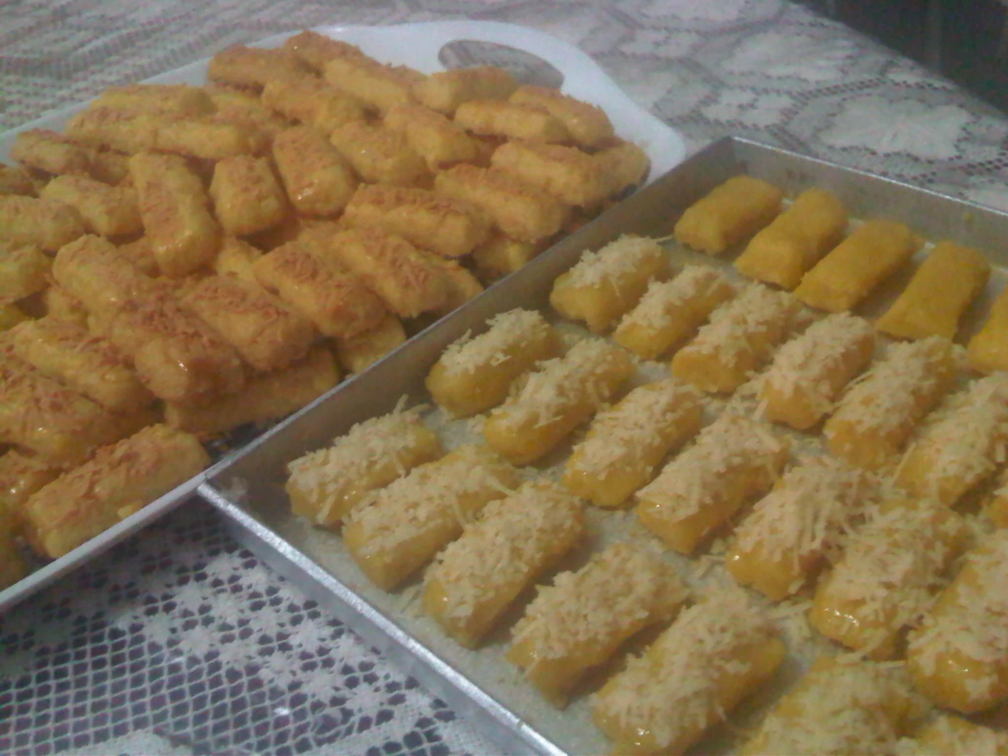 kue lebaraaan, kastengel dan nastar
