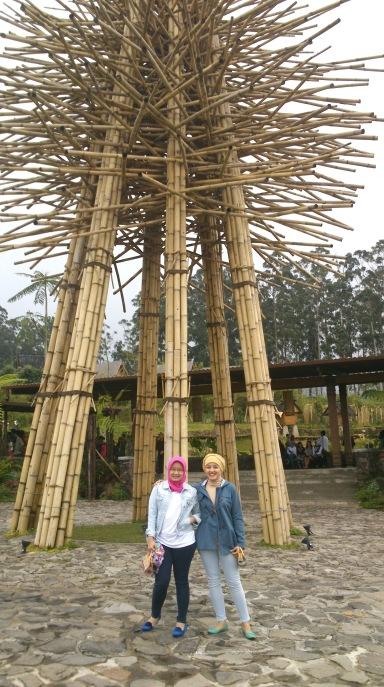 Dusun Bambu, the main gate