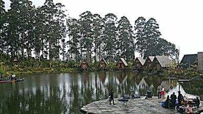 Saung Purbasari, the main dock
