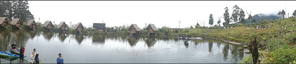 panoramic view of Saung Purbasari