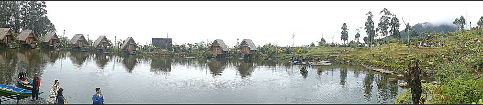 panoramic view of Saung Purbasari