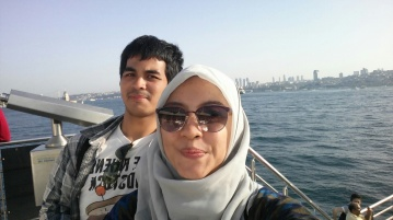 Went back to Sirkeci by ferry