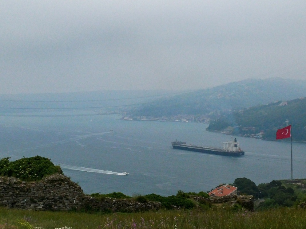 Cloudy day in Anadolu Kavagi